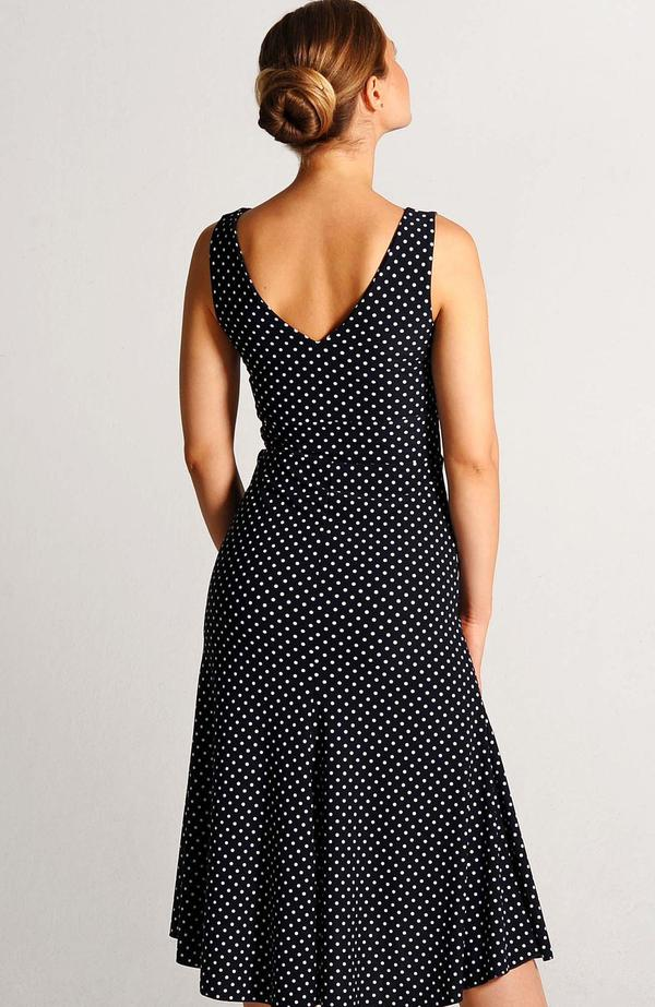tango dress coleccion berlin polka dot